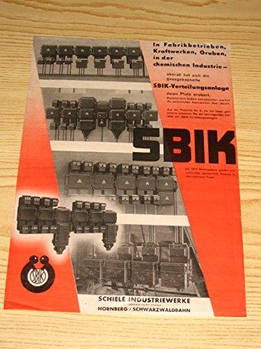 SBIK - Verteilungsanlage