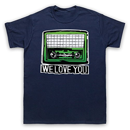 Inspiriert durch Psychedelic Furs We Love You Unofficial Herren T-Shirt Ultramarinblau