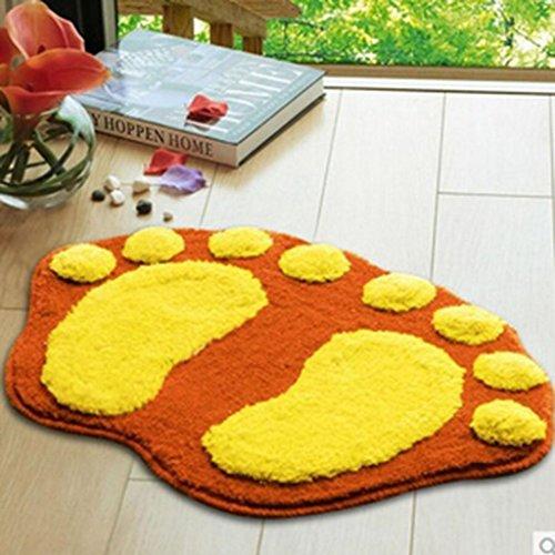 60* 40cm Felpudos de Baño grandes pies cuarto de baño absorbente