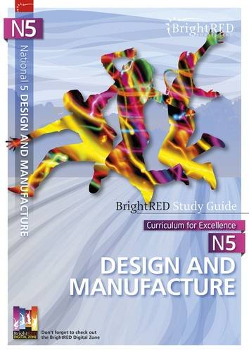 National 5 Design and Manufacture (Bright Red Study Guide)
