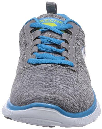 Skechers - Flex AppealNext Generation, pantofole da donna Grigio (GYBL)
