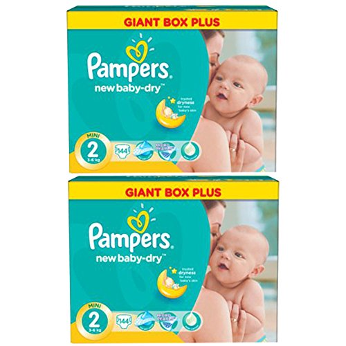Pampers Active Baby Dry Windeln Mini