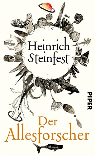 Buchseite und Rezensionen zu 'Der Allesforscher: Roman' von Heinrich Steinfest