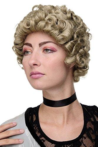 WIG ME UP - Qualitätsperücke Perücke Damenperücke Renaissance & Barock Adlige Edelfrau Aschblond Blond GFW1616-24