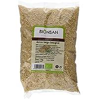 Bionsan Arroz Largo Integral - 3 Paquetes de 1000 gr - Total: 3000 gr