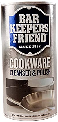 (3 Pack) Bar Keepers Friend Cookware and Sink Cleaner - 12 Oz. Each