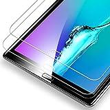 ESR Panzerglas Schutzfolie [2 Stück] Kompatibel mit Samsung Galaxy Tab A 10.1 2016 T580/T580N/T585N, Premius 9H Hartglas Bildschirmschutzfolie [HD Kristallklar Blasenfrei Kratzfest]
