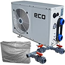 SET ECO Wärmepumpe Typ 3 inkl. Bypass-Set + Winterabdeckung, Poolheizung