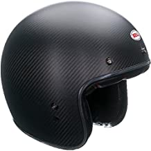 Bell Helmets Street 2015 Custom 500 Carbon Casco Adulto, color Negro Mate, talla XXL