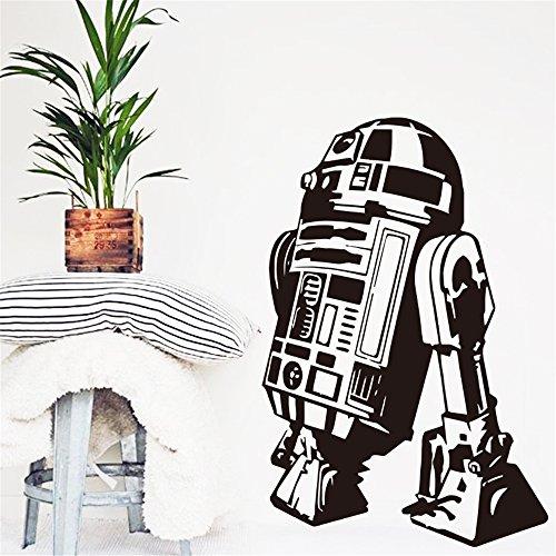 Star Wars R2D2 Droid Robot Schlafzimmer Kinderzimmer Aufkleber Glastür Dcal Nursey Decor