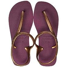 Havaianas Women's Flash Urban Sling Back Sandals, Bordeaux, 4/5 UK 39/40 EU