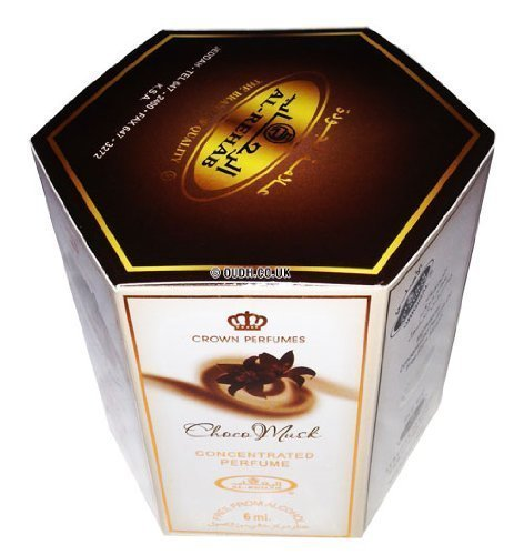 Choco Musk Perfume Oil - 6 x 6ml by Al Rehab