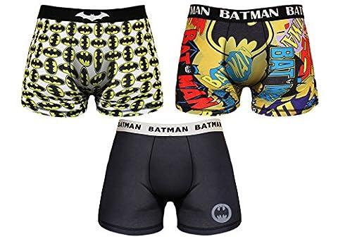 Boxer Batman - Batman Boxer Homme Marvel 95% Polyester 5%