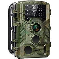 Force Valley Wildkamera 16MP 1080P HD Low-Glow-Infrarot Tier-Kamera IP56 Wasserdichte Jagdkamera Überwachungskame