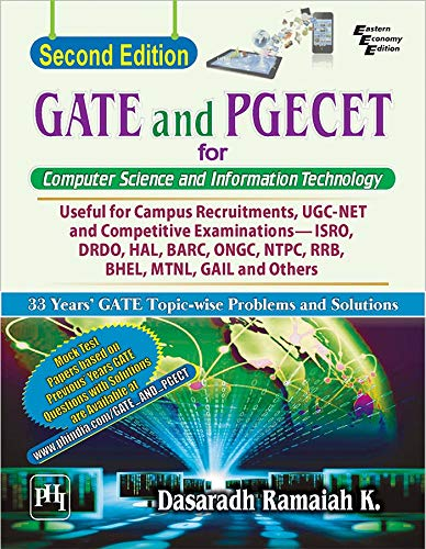 GATE and PGECET for Computer Science and Information Technology
