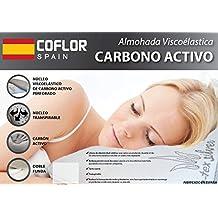 Almohada VISCO-ELÁSTICA Carbono Activo - Tex-Silver - Fabricado España ...