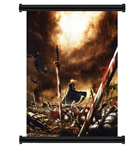 Fate Stay Night Anime Fabric Wall Scroll Poster (32x47) Inches
