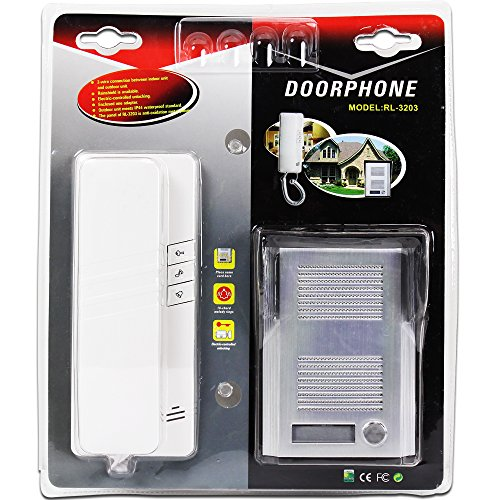 2 Wire Door Phone System Doorbell Intercom