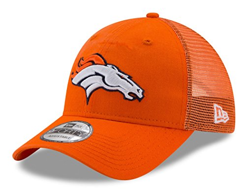 Y Trucker Washed Denver Broncos NFL Cap, Orange ()