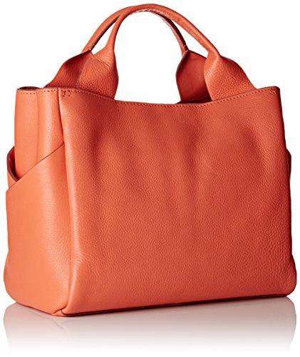 Clarks Talara Star, Sacs Portés Main Femme, 16x25x41 cm Orange (Coral Leather)