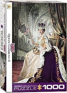 Eurographics 6000-0919 Puzzle Puzzle - Rompecabezas (Puzzle Rompecabezas, Gente, Niños y Adultos, Queen Elizabeth II, Niño/niña, Interior)