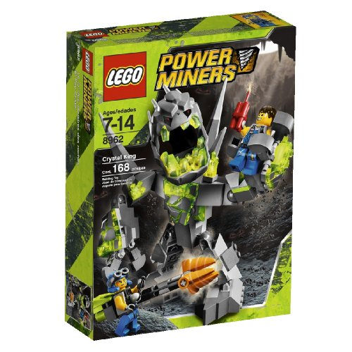 LEGO Power Miners 8962 - König der Monster (Lego Power Miner Sets)