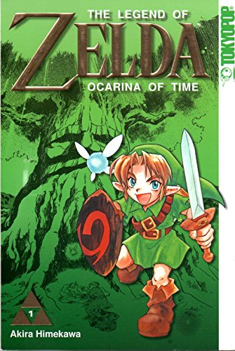 The Legend of ZELDA Manga Comic # 1: Ocarina of Time (Art.Nr.: 978-3-86719-712-0)