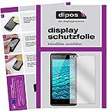 dipos I 2X Schutzfolie klar passend für Haier Alpha A1 Folie Bildschirmschutzfolie