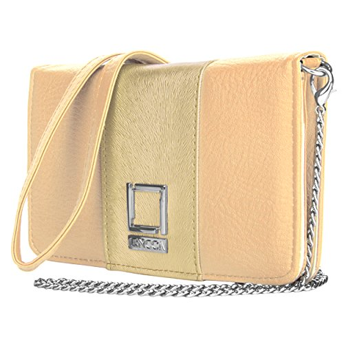 lencca-cartera-de-mano-para-mujer-beige-beige-with-gold-dust