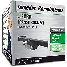 Anhängerkupplung starr FORD TRANSIT CONNECT II ab 2014+E-SATZ 13p SPEZIFISCH