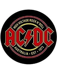 AC/DC - High Voltage Rock n Roll - Circular - Backpatch / Rückenaufnäher