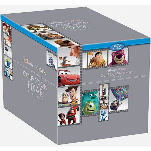 Pixar Collection 11 Titulos [Blu-ray] [Spanien Import]