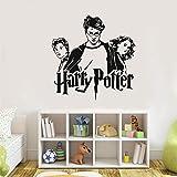 stickers muraux garcon ado Harry Potter Trio Ron Hermione Sticker Vinyle Poudlard Art Autocollant Mural Pour La Chambre Des Enfants Chambre Décoration chambre Affiche