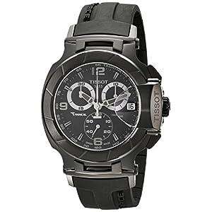 Tissot T048417370 – Reloj de Caballero de Cuarzo, Correa de Goma