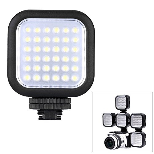 Godox Dimmable Ultra Bright Portable 260LUX CN36 Ununterbrochen Auf Kamera LED Licht Panel für Kamera Camcorder Video (Fit Canon Sony Nikon Fast DSLR Kamera) mit NAMVO Diffusor - Dslr Led-panel,