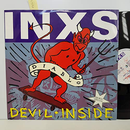 INXS - Devil Inside - 3 TRACK 12 Inch Vinyl