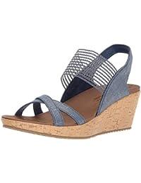 Damen Thé Beverlee Haute Sandalen Skechers