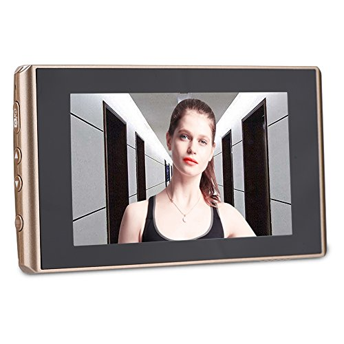 Topiky Caméra Judas, visionneuse de Porte numérique 4300E et Sonnette 2 Millions de Pixels