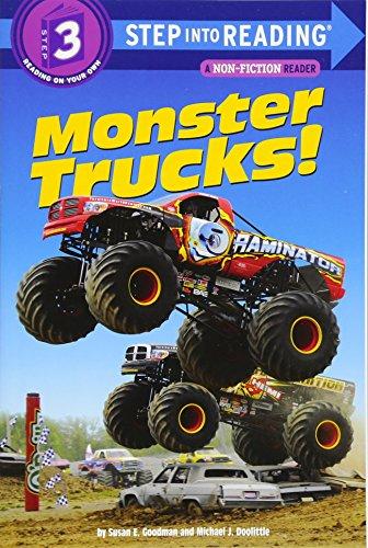 Monster Trucks! (Step Into Reading, Step 3)