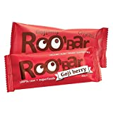 Roo'bar Organic Goji Berry Raw Superfood Bar 30g by Kurabiinica