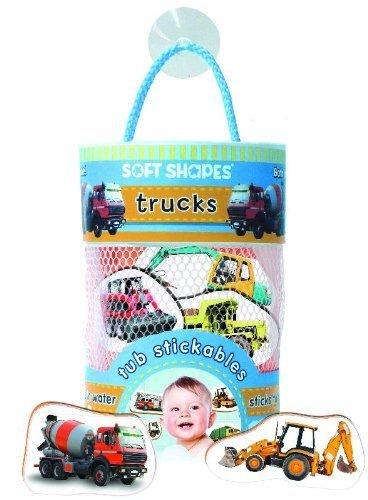 Soft Shapes Tub Stickables: trucks (Photographic Bath Stickers) (2012-07-12)