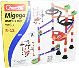 Quercetti 6538 Migoga Marble Run Vortis - Tobogán para canicas (80 piezas)