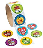 Best Oriental Trading Company Kids Games - 1 Roll ~ I Love Reading Stickers ~ Review