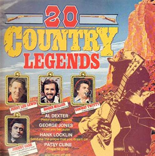20 Country Legends [Vinyl LP] -
