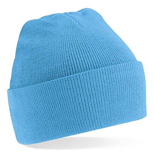 Beechfield Original cuffed beanie Surf Blue