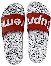 8f28568d1 Amazon.in  White - Flip-Flops   Slippers   Men s Shoes  Shoes   Handbags