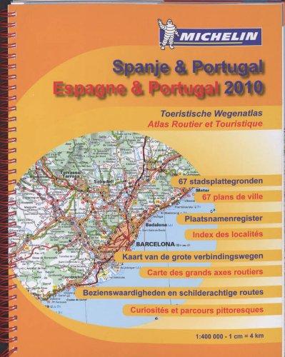 ESPAGNE - PORTUGAL - SPANJE 22460 ATLAS MICHELIN 2010 (ATLAS(SEN) MICHELIN)