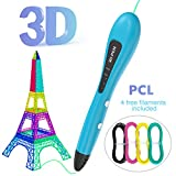 3D Printing Pen, Gvoo [Upgraded Version] Intelligent USB Powered 3D Drawing Pen
