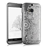 kwmobile Hülle für HTC One M8 / Dual - Crystal Case Handy Schutzhülle Kunststoff - Backcover...