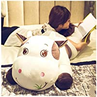 Purple Cute Cow Plush Toy Rag Doll Sleeping Pillow Bed Doll Girl Doll Gift